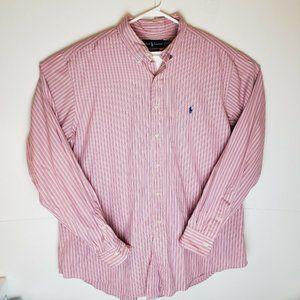 Ralph Lauren Pink Striped Shirt